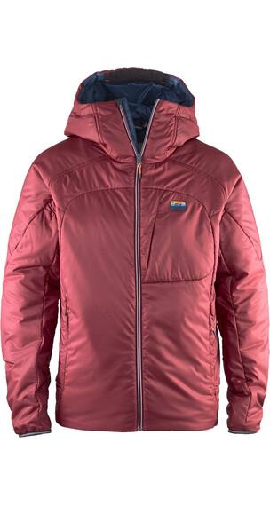 Elevenate M's Combin Hood Jacket Beetroot Red